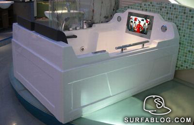 SURFAblog: WATERPROOF LCD TV