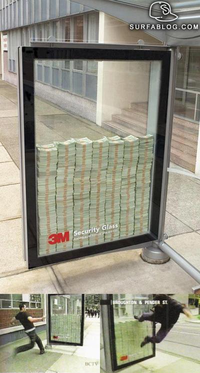 M Bulletproof Glass Ad