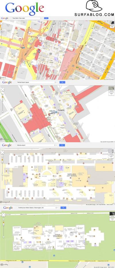 Surfablog google maps entra negli edifici for Piccoli piani di progettazione di edifici commerciali