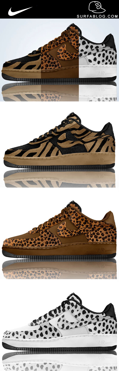 best authentic a3a1f 899b0 ... NIKE AIR FORCE 1 ID PONY HAIR ANIMAL PRINT OPTIONS (SNEAKERS COLLECTION  613) ...