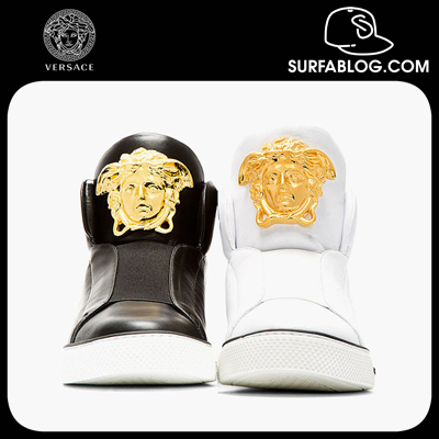 SURFAblog: VERSACE MEDUSA HIGH-TOP SNEAKERS (SNEAKERS ...
