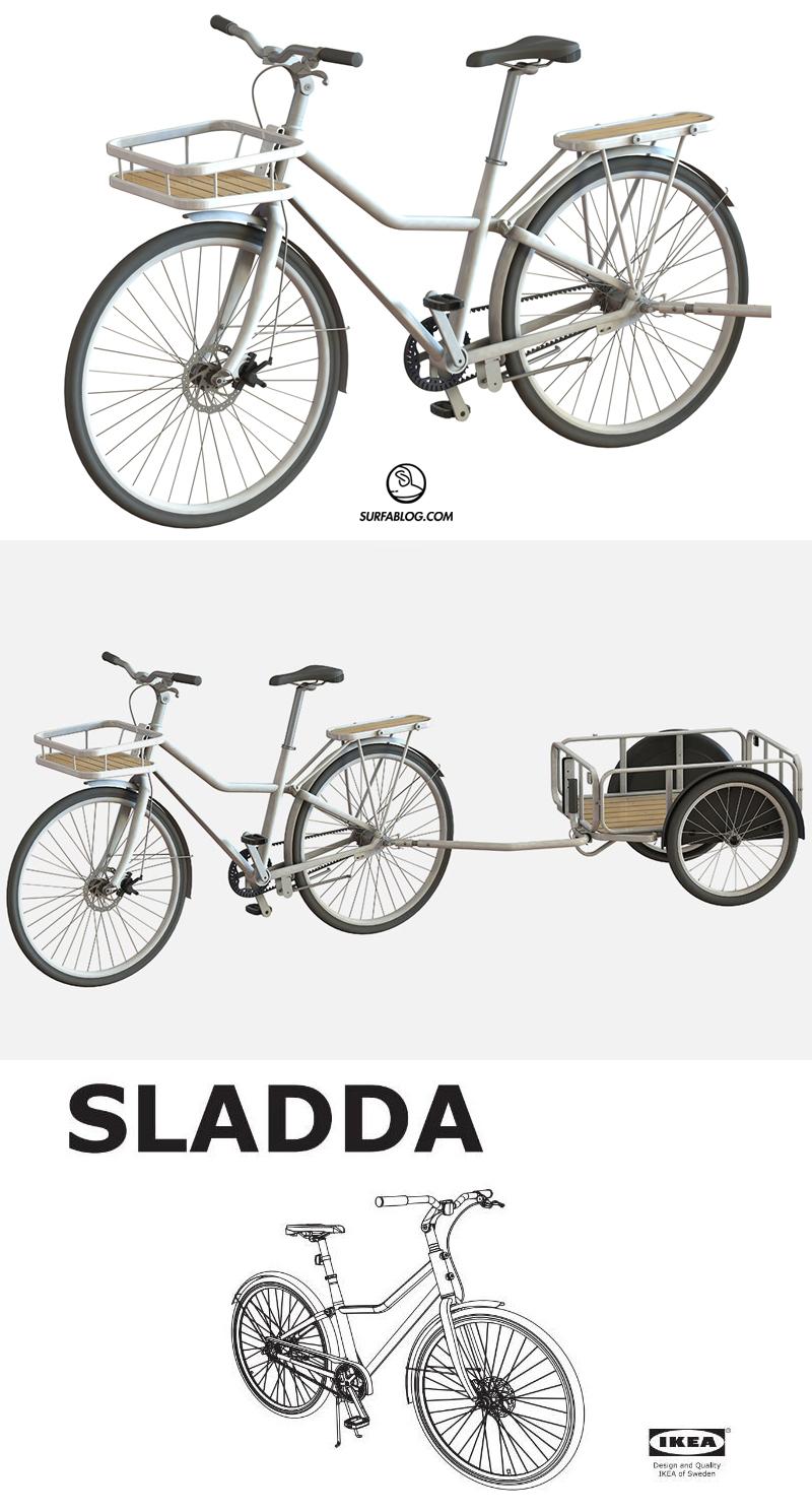 Surfablog Ikea Mette In Vendita Sladda La Bici Che Monti Da Solo