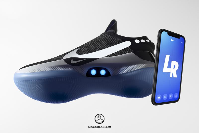 Nike Adapt BB: la scarpa si allaccia con un'app