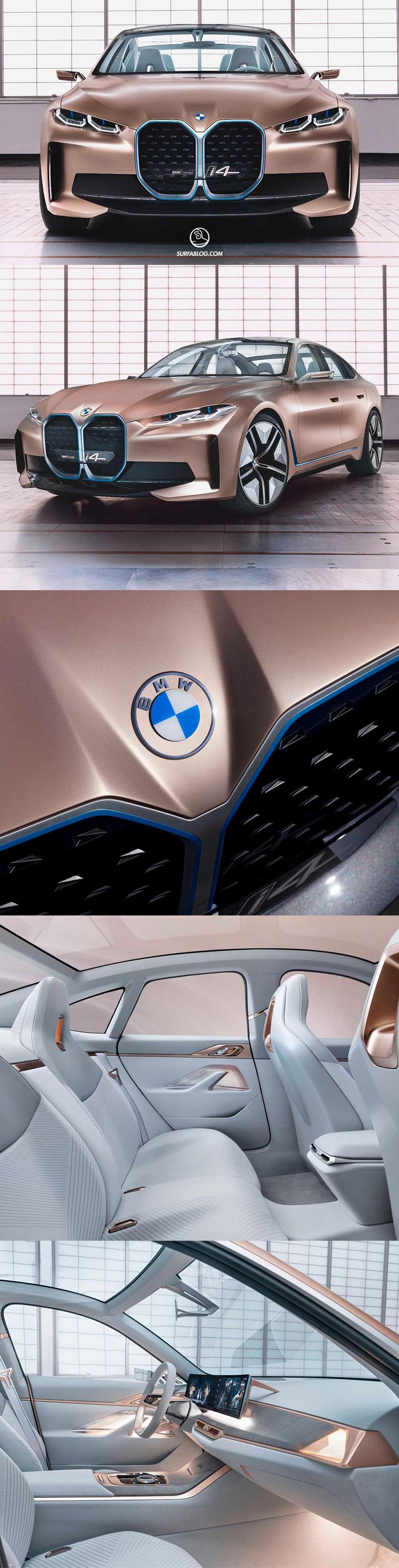 Surfablog Bmw Presenta La Prima Auto Con Il Nuovo Logo
